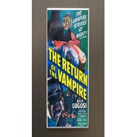 Return Of Vampire The Refrigerator Fridge Magnet Sci Fi Horror Movie Poster LC7