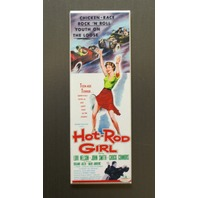 Hot Rod Girl Refrigerator FRIDGE MAGNET Muscle Car 1950's 50s Movie Poster LA8