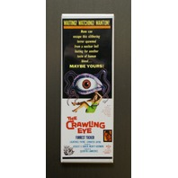 The Crawling Eye Refrigerator FRIDGE MAGNET Sci Fi Horror Movie Poster Film LH16
