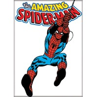 Amazing Spiderman Web costume Fridge magnet 90s Style Marvel Comic book art K19