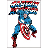 Captain America Shield comic book 90s Cap style Charcter art FRIDGE MAGNET A27