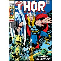 Mighty THOR # 160 Galactus Marvel comic book refrigerator FRIDGE MAGNET A23