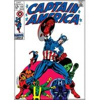 Captain America # 111 Shield Hydra Marvel comic Steranko FRIDGE MAGNET M24