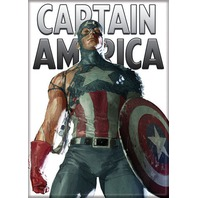 Captain America Cap sleeve missing Marvel comic book superhero FRIDGE MAGNET i18