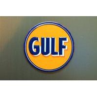 Gulf Gasoline Refrigerator Magnet Gas Service Station Standard Oil A10