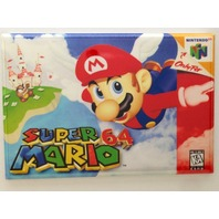 Super Mario 64 refrigerator FRIDGE MAGNET N64 nintendo 64 video game magnet