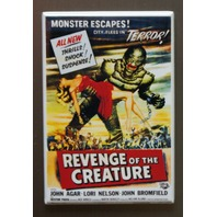 Revenge Of The Creature Refrigerator Fridge Magnet Movie Poster Sci Fi Swamp T2