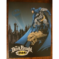 Batman The Dark Knight DC tin metal sign poster comic utility belt bat signal 14