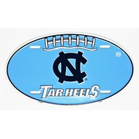 North Carolina Tar Heels Aluminum Football License Sign Garage Man Cave NCAA F5
