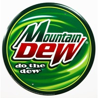 Mountain Dew Do The Dew Tin Sign Modern Logo Soda Cola Pop Pepsi Logo Kitchen E5