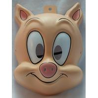 Tiny Toons Hampton J Pig Warner Bros Halloween Mask Porky Pig Y071