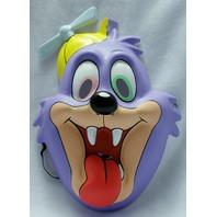 Tiny Toons Dizzy Devil Tazmanian Devil Taz Halloween Mask Looney Toons Y069