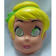 Vintage Walt Disney Tinkerbell Halloween Mask Tinker Bell Fairy Peter Pan Y078