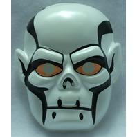 Mighty Max Skull Master Vintage Halloween Mask 1994 Rubies Skeleton Cartoon Y034