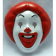 McDonalds Ronald Mcdonald AS IS Halloween Mask Near Vintage 1997 Pop Art PVC Mask