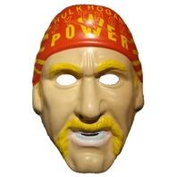 WWF Hulk Hogan Vintage Halloween Mask WWE WCW NWO PVC Wrestling Hulkamania Y051