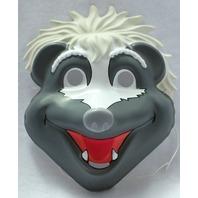 Jim Henson's Animal Show Stinky Skunk Vintage Halloween Mask Henson PVC Y019