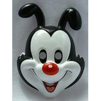 Kids Size Yakko Animaniacs Vintage Halloween Mask Rubies Tiny Toons PVC Y026