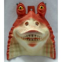 Star Wars Jar Jar Binks Halloween Mask Rubies PVC Comic Con Lucasfilm Scifi Y001