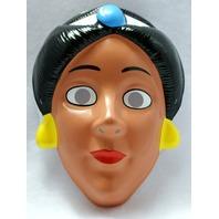 Walt Disney Princess Jasmine Aladdin Vintage Halloween Mask 1993 Rubies Y035