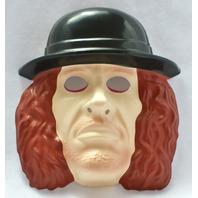 WWF The Undertaker Vintage Halloween Mask 1993 WWE Wrestling WCW PVC Y059