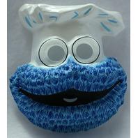 Vintage Sesame Street Cookie Monster Halloween Mask Ben Cooper 1979 Y005