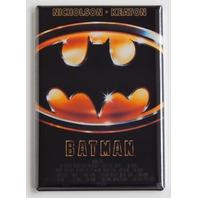 Batman 1989 Movie Poster FRIDGE MAGNET reproduction Nicholson Keaton S25