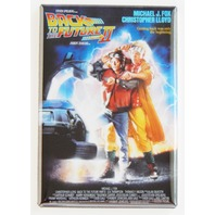 Back to the Future 2 movie poster FRIDGE MAGNET Michael J Fox Chris LLoyd R28
