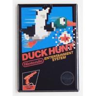Duck Hunt zapper gun nes nintendo box cover refrigerator FRIDGE MAGNET R23