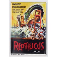 Reptilicus movie poster FRIDGE MAGNET giant reptile monster scary sci fi P28