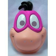 Vintage The Flintstones Dino Halloween Mask Hanna Barbera Child Size Y099