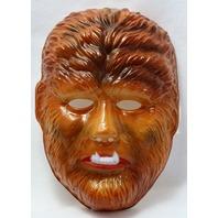 Vintage Universal Monsters The Wolfman Halloween Mask Rubies Werewolf Y101