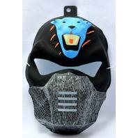 Vintage Ninja Halloween Mask Bear Warrior Black Blue Bear Rubies Y109 Costume