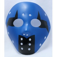 Blue & Black Goalie Halloween Mask Jason Friday The 13th Horror Movie Y065