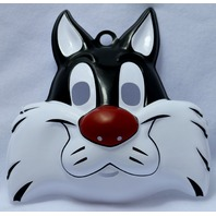Warner Bros Sylvester Cat Halloween Mask Loony Toons Cartoon Y119