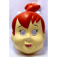The Flintstones Pebbles Halloween Mask Large Adult Size Hanna Barbera Y064