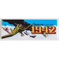 Romstar Capcom 1942 FRIDGE MAGNET Arcade Video Game Marquee Nintendo LH14