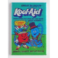Great Bluedini Koolaid Kool Aid magician magic FRIDGE MAGNET presto chango N6