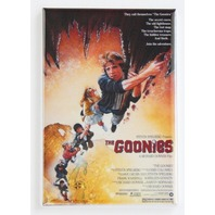 The Goonies Movie Poster FRIDGE MAGNET 80s 1980s Sci Fi Pirate Ship M10