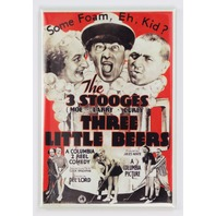 3 stooges Three little beers movie poster refrigerator FRIDGE MAGNET