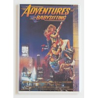 Adventures in Babysitting movie poster refrigerator FRIDGE MAGNET comedy R3