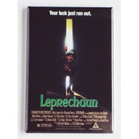 Leprechaun luck just ran out movie poster FRIDGE MAGNET Scary Horror L9