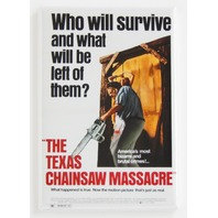 Texas chainsaw massacre movie poster FRIDGE MAGNET Horror scary show N25