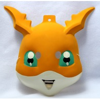 Vintage DIGIMON DIGITAL MONSTERS PATAMON HALLOWEEN MASK PVC Y038
