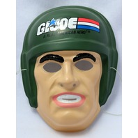 Vintage GI Joe Halloween Mask Ben Cooper Hasbro 1990 Y127