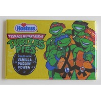 TMNT hostess pie wrapper FRIDGE MAGNET Teenage mutant ninja turtles