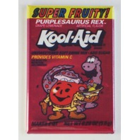 Super Fruity Kool aid man FRIDGE MAGNET retro purplesaurus rex A1 Dinosaur