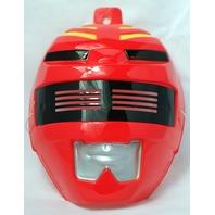 Red Power Ranger Halloween Mask PVC Near Vintage 1999 Rubies Saban Bandai Y014