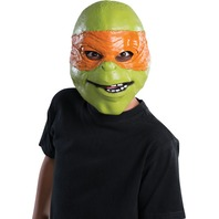 TMNT Movie Michelangelo Halloween Mask Vinyl Teenage Mutant Ninja Turtles Y018