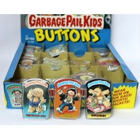 Vintage Topps Garbage Pail Kids Button Set of 3 GPK 1980's Pop Art Lot 5